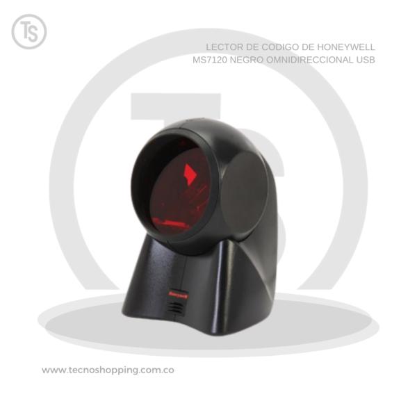 LECTOR DE CODIGO DE HONEYWELL MS7120 NEGRO OMNIDIRECCIONAL USB