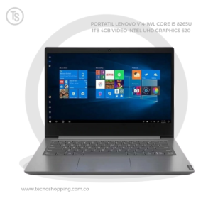 PORTATIL LENOVO V14-IWL CORE i5 8265U 1TB 4GB VIDEO INTEL UHD GRAPHICS 620