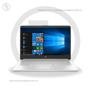 PORTATIL HP 14-DQ1002LA CORE I3 1005 G1