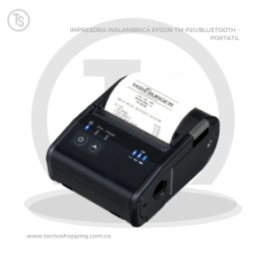IMPRESORA INALAMBRICA EPSON TM-P20/BLUETOOTH - PORTATIL