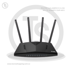 ROUTER INALAMBRICO D-LINK 4G LTE 300MBPS DWR-M921