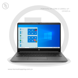 PORTATIL HP CORE I3 1005G1 14_ - CF3037LA