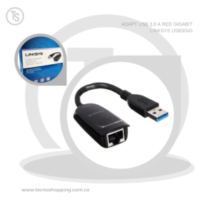 ADAPT USB 3.0 A RED GIGABIT LINKSYS USB3GIG