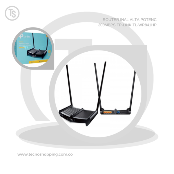 ROUTER INAL ALTA POTENC 300MBPS TP-LINK TL-WR841HP